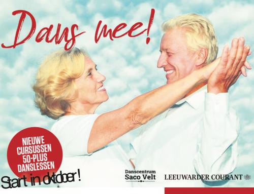 Inschrijven dansles 50+ i.s.m. Leeuwarder Courant