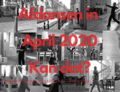 Afdansen in april 2020?
